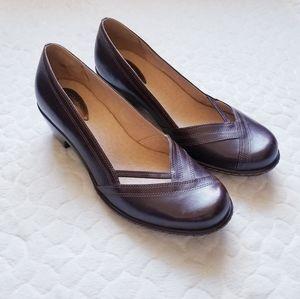 NEW Clarks slip on shoes maryjane clogs 10 wide